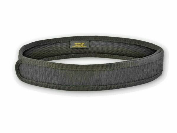 Perfect Fit Nylon Inner Belt with Velcro® Closure In Black