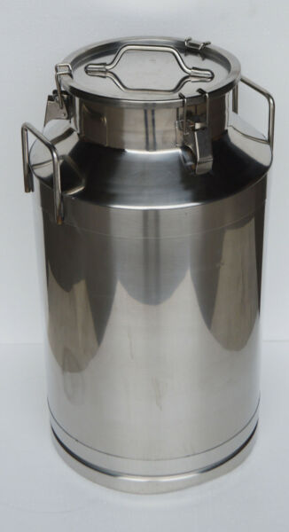 15 Gal Stainless Steel Milk Pail Farm Water Milk Wine Bucket Storage Transfer
