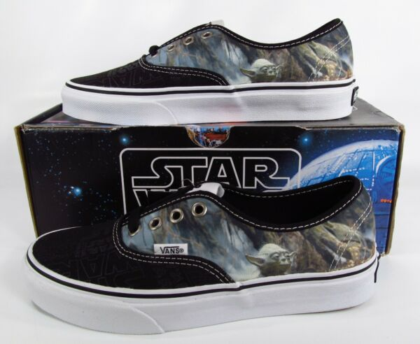 Vans Star Wars Yoda Authentic Sneakers Limited Edition RARE! (4.5 Men / 6 Women)
