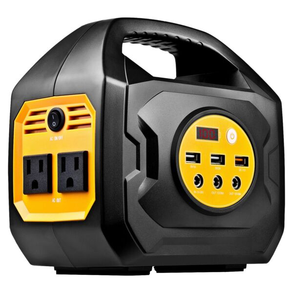 S200 Portable Power Station For Camping and Emergency Uses (SolarCarWall)
