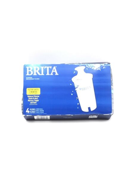 Brita Water Filter Pitcher Replacement Filters 4 Pack