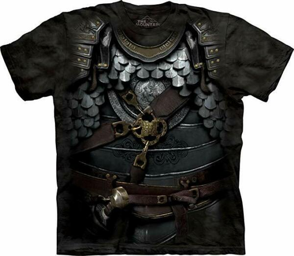 The Mountain Kids Centurion Armor 100% Cotton T Shirt Youth Size Small NWT $11.99