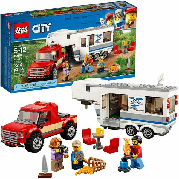 NEW LEGO City 60182 Pickup and Caravan