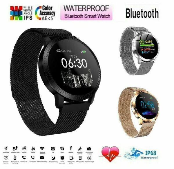 Waterproof Bluetooth Smart Watch For iphone IOS Android Motorola LG Samsung Moto $29.99
