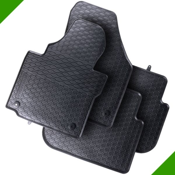 VW Touran 1T3 Van Premium Car Foot Mat Rubber Mat Black 4