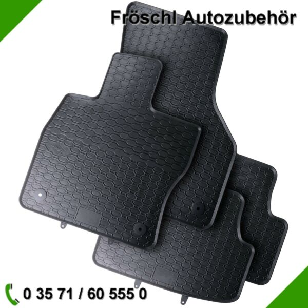 Seat Leon 3 5F1 5F5 5F8 Premium Car Foot Mat Rubber Mat Black 6#