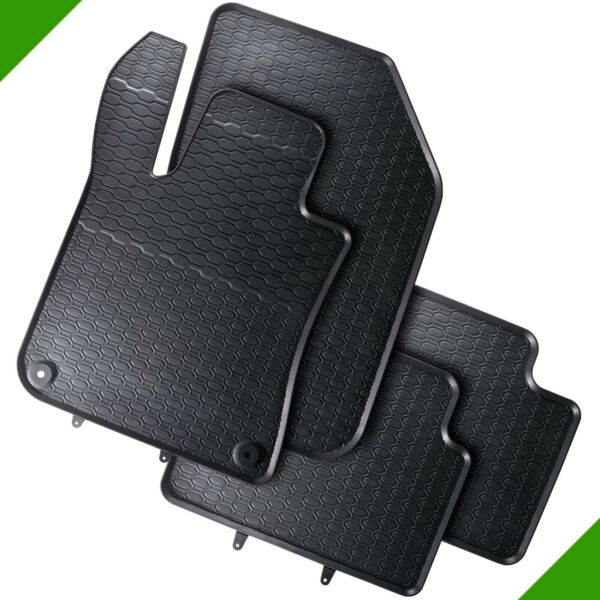 Peugeot 308 2 Premium Car Vehicle Rubber Foot Mat Automatte Mat Black 9#