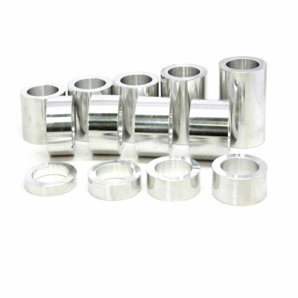 Wheel Axle Spacer Kit I.D. 5 8″ 0.625 O.D. 1 1 8″ 1.1250 –13 Spacers Machined $29.95