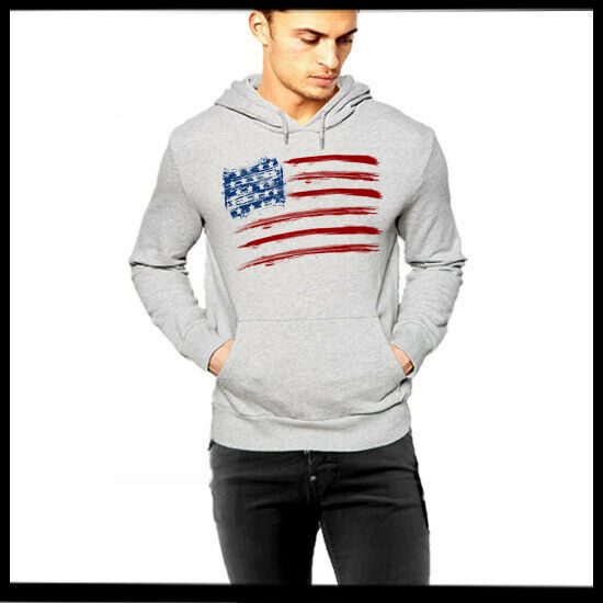 United States Of American Flag Hoodie USA Independence Day 4th Of July Holiday