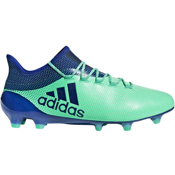 adidas Performance Mens X 17.1 Firm Ground Sports Training Soccer Boots - Blue