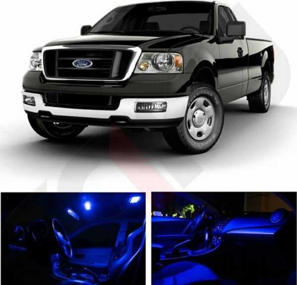 14x Ultra Blue Car Interior Light LED Package Kit For Chevy Avalanche 2002-2006