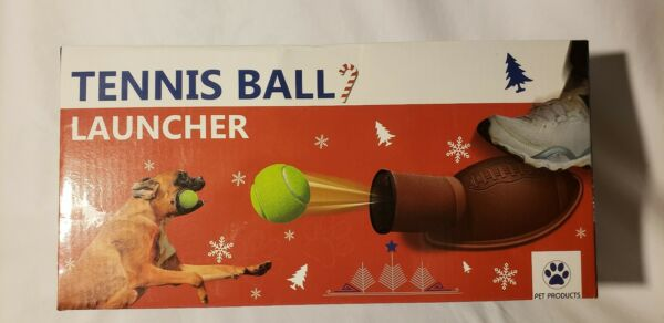 Dog Tennis Ball Launcher New in Box Shaped like a Football