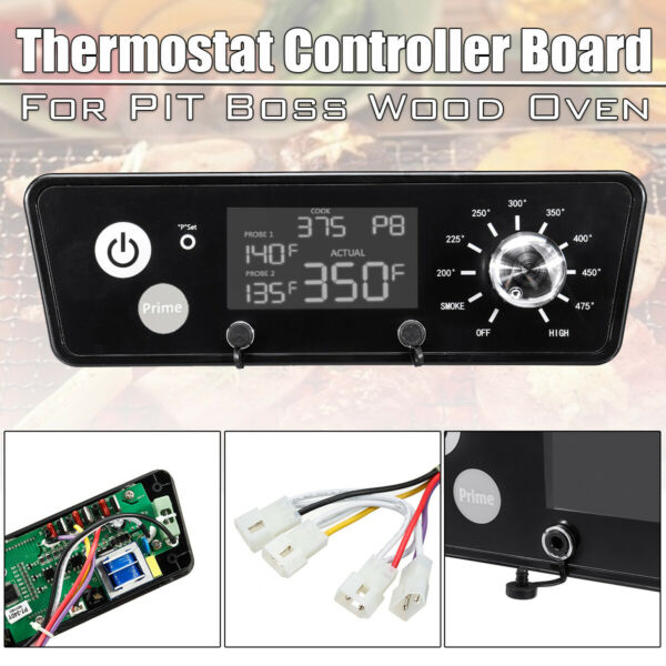 BBQ Digital Thermostat Control Board For Boss Pit Wood Oven Grills LCD Display $36.55