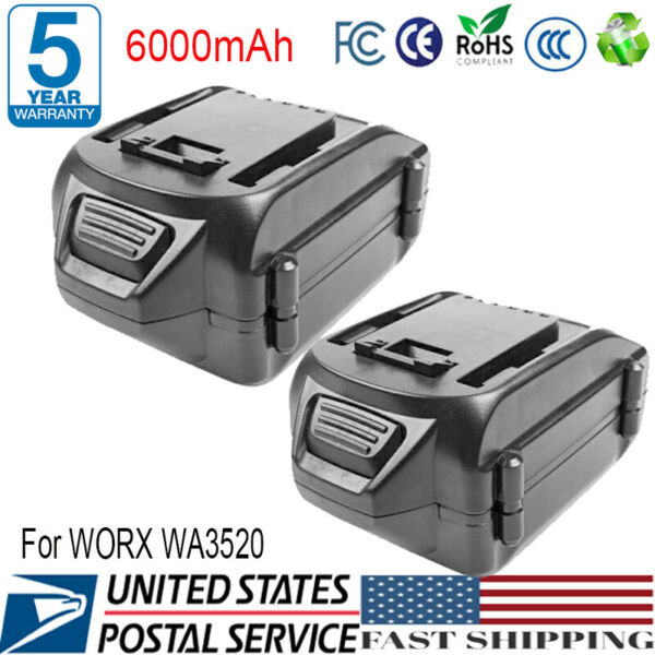 2X 8700mAh NP-F960 Replacement Battery for Sony NP-F975 NP-F970 NP-F950 NP-F770