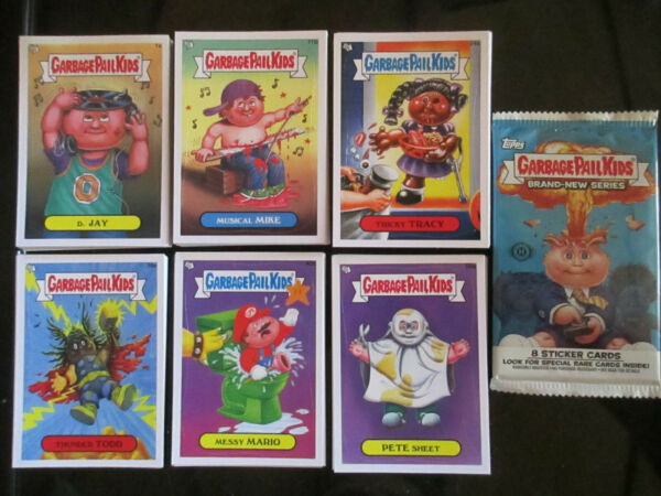 Topps Garbage Pail Kids 2012 Brand New Series 1 BNS Complete 110 Card Set + Wrap