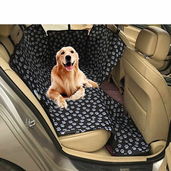 Dog Carriers Car Seat Cover Waterproof Back Pet Mats Protector With Safety Belt $48.99