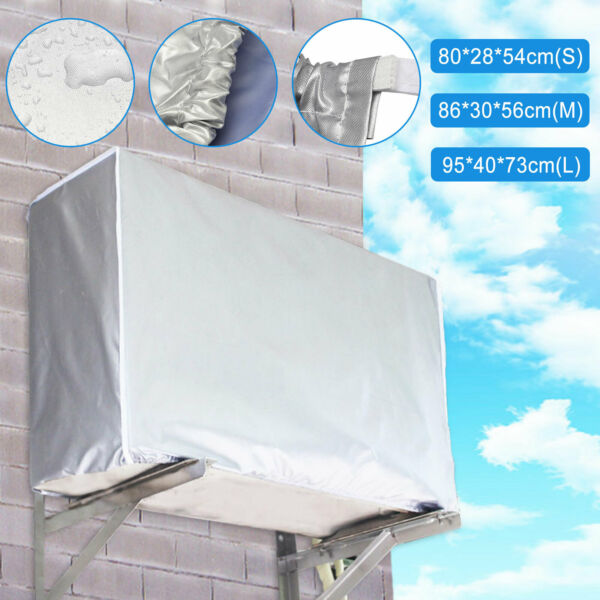 Window Air Conditioner Cover Air Conditioner Outdoor Unit Anti-Snow Waterproof
