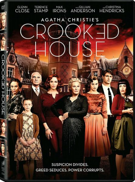 Crooked House DVD NEW Factory Sealed Free Shipping
