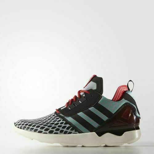 New Adidas Men's Originals ZX 8000 Boost SHOES (B24953)  Slate/Tomato-Black