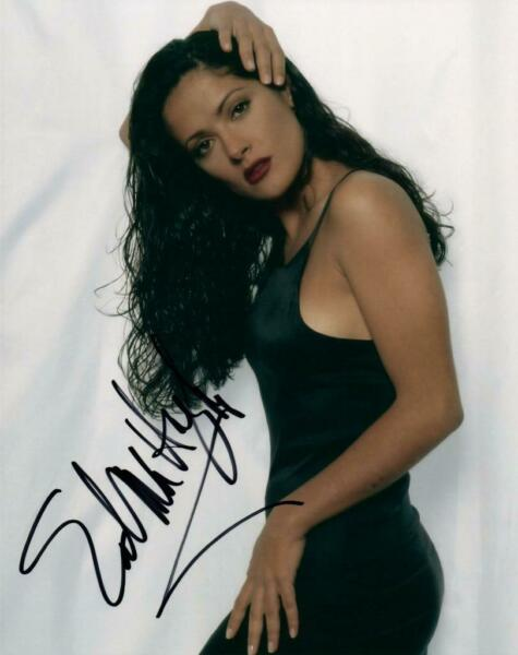 Salma Hayek signed 8x10 Picture Photo autographed with COA
