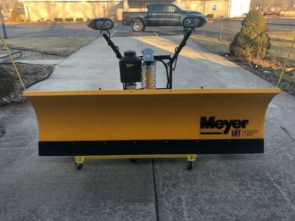 Meyer Lot Pro Light Duty Snow Plow. Mount for F150 ('97-02). May fit others.