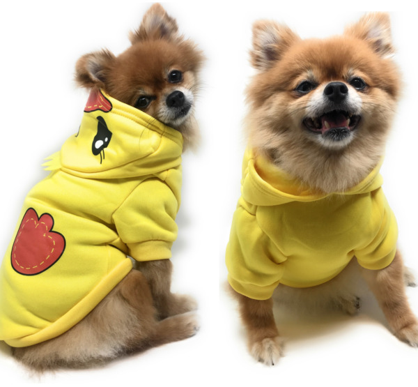 US Pet Dog Sweater Soft Dogs Clothes Sports Hoodie Jumper Coat Puppy Cat Apparel $7.99