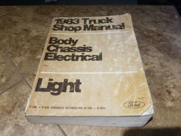 1983 Ford Light Truck Shop Manual