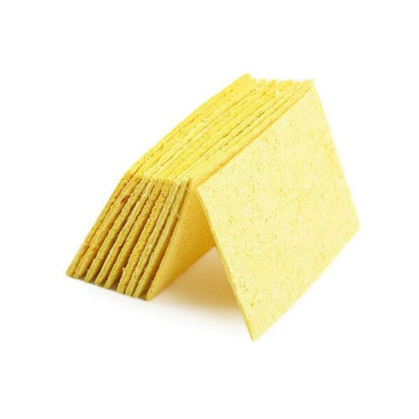 50pcs High Temperature Enduring Arrival New YellowHot Sponge Cleaning Iron