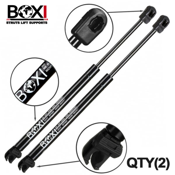 QTY2 Rear Window Glass Lift Supports Struts Shock For Nissan Pathfinder 2005-13
