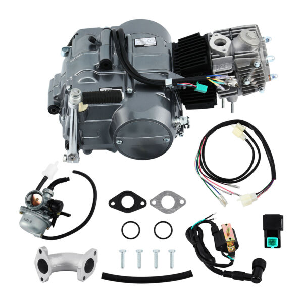 Ridgeyard 125cc Engine Motor 4 Stroke Motorcycle Dirt Pit Bike For Honda CRF50 $257.59