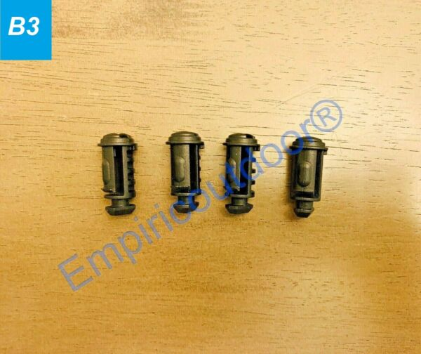 New Thule Replacement Lock Plugs x4 for Aeroblade Edge amp; Thule Evo Footpacks $11.99