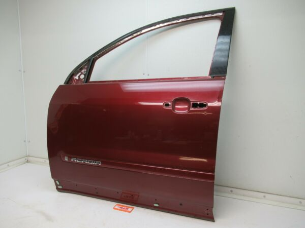LEFT FRONT DOOR SHELL PANEL DRIVER SIDE LF RED ACADIA OUTLOOK TRAVERSE 07 08 09