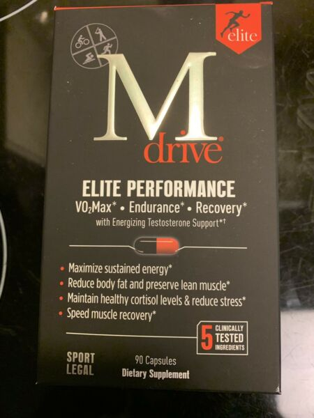 M Drive Elite Performance Testosterone Support Dreambrands 90 Capsules NEW