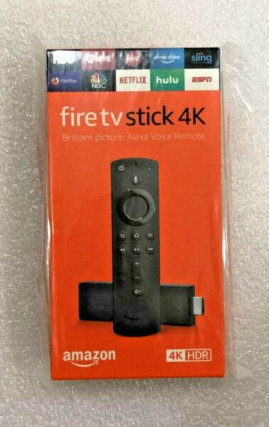 NEW !! Amazon Fire TV Stick 4K with Alexa Voice Remote Streaming Media Player