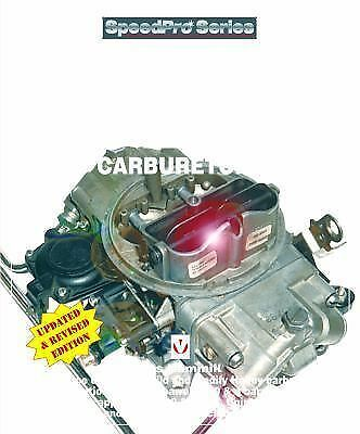 How to Build and Power Tune Holley Carburetors  (ExLib) by Des Hammill