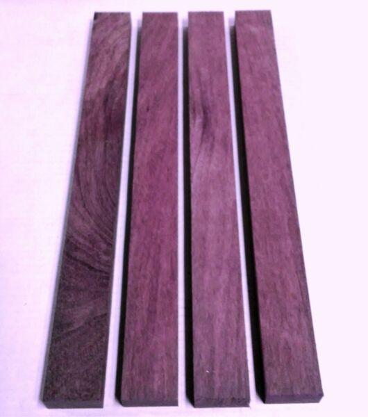 """3 4"""" x 2"""" x 16quot; EXOTIC PURPLEHEART Lumber Wood Cutting Boards Carving Inlay $25.00"""