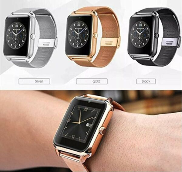 Smart Watch Bluetooth For Samsung Galaxy iPhone LG Android Motorola Wrist Phone $17.49