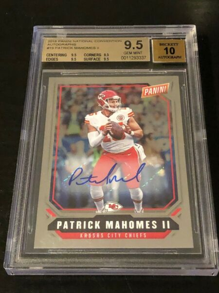 Patrick Mahomes SSP 2018 Auto *BuyBackPack* SUPER CHASER PLEASE READ DESCRIPTION