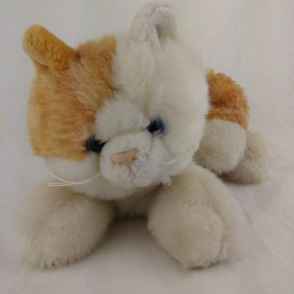 Cute Plush Cuddly Cat for Great That Cat Lover you Know. 16in long nice size $8.99