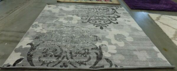 SILVER IVORY 9#x27; X 9#x27; Square Flaw in Rug Reduced Price 1172585985 ADR114B 9SQ