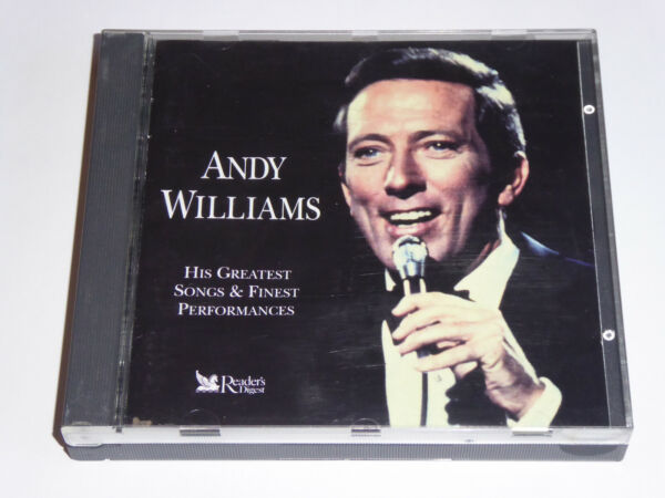 Andy Williams - His Greatest Songs & Finest Performances - Reader's Digest 3x CD