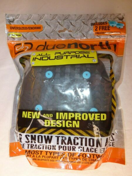 New Due North Traction Aids Ice Snow All Purpose Industrial Oversize (See Below)