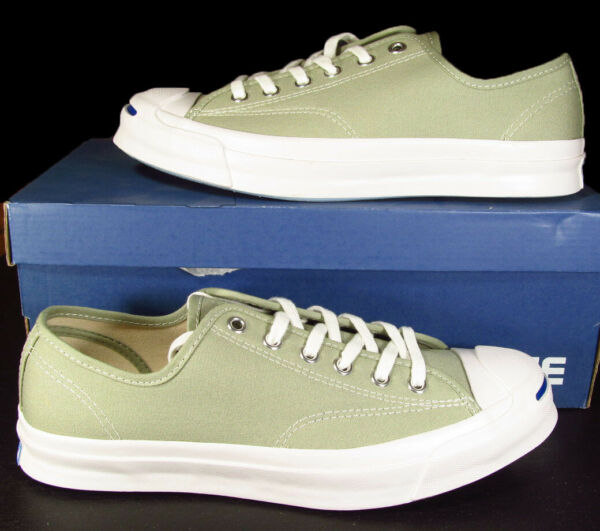 Converse Jack Purcell JP Signature Series Ox DRIED SAGE 155593C 7 Men (8.5 Wom)