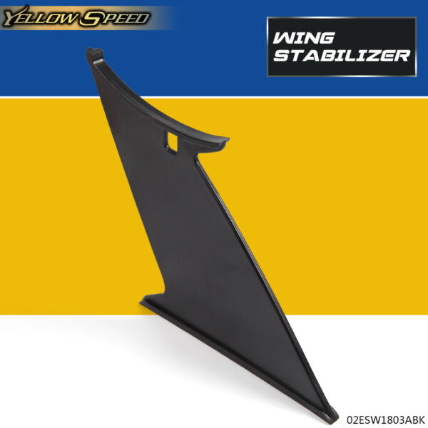 For Subaru WRX STI Add On 2015-2018 ABS Trunk Spoiler Wing Stabilizer Support