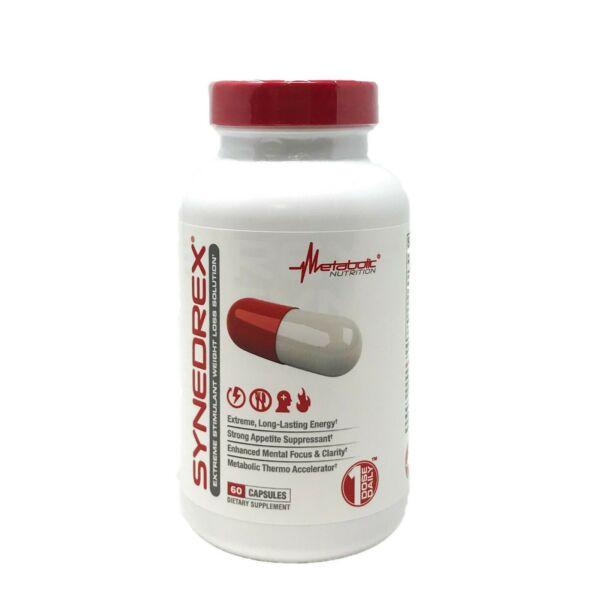 Metabolic Nutrition Synedrex Fat Burner Weight Loss Diet Pill Energy 60 Caps $26.50