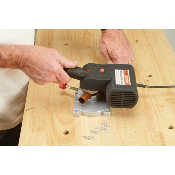 Mini Cut Off Saw Bench Top 2quot; Accurate Precision Cuts Metal Wood Carbon Arrows $61.96