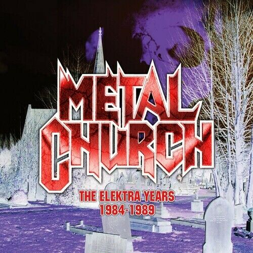 Metal Church Elektra Years 1984 1989 3CD Gatefold Digisleeve New CD Gatefo $21.05