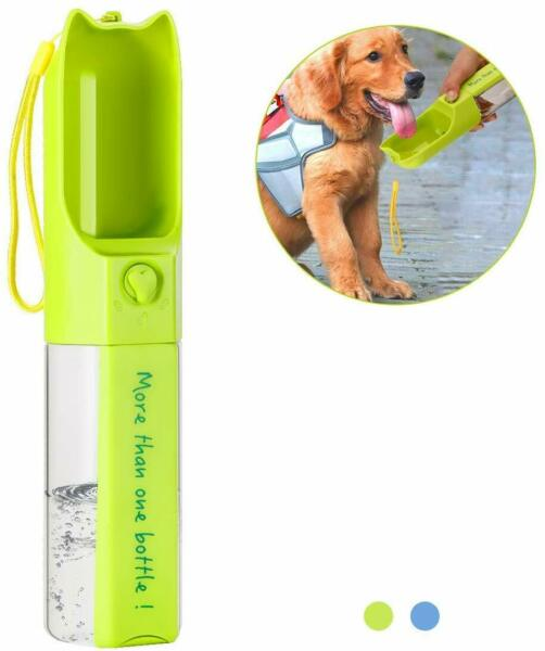 Petmii Multifunctional Pet Travel Water Drinking Bottle 14oz Travel Dog $8.99
