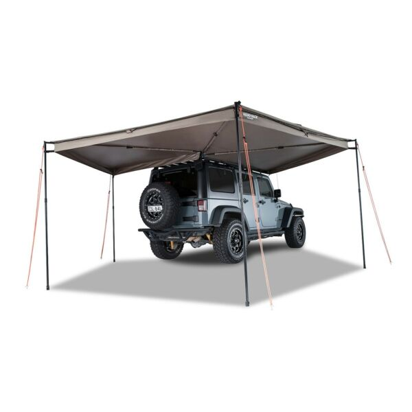 Rhino Rack 33200 Unversal Heavy Duty Ripstop Batwing Awning Right 91 Inch Height $714.60