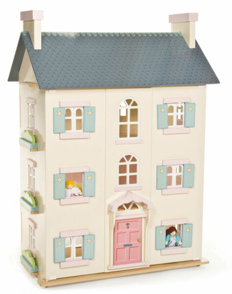 NEW Quality Wooden Dolls House PAPO Le Toy Van Cherry Tree Hall - 92cm Tall